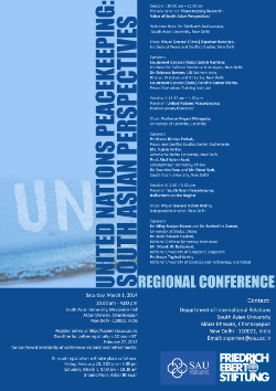 Peacekeeping Conference
